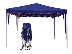 Carpa cenador plegable y portatil azul y blanco