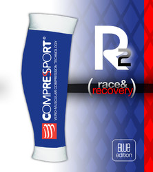 Compressport r2 blue edition