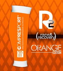 Compressport r2 naranja